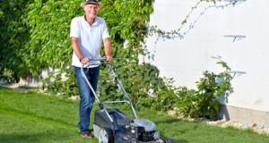 Einhell Benzin Rasenmäher